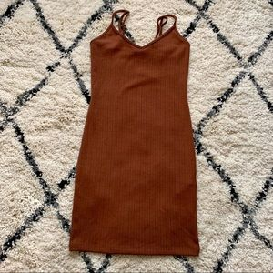 🆕 Knit Brown Dress Size Small